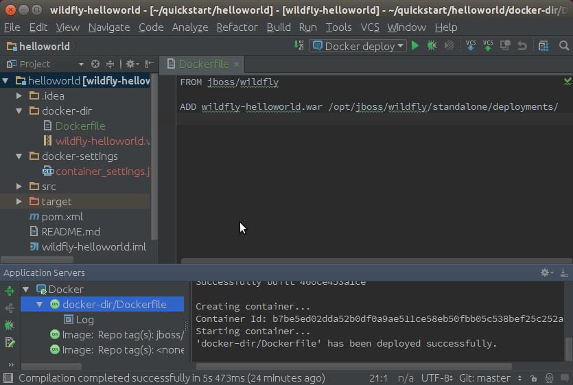 Intellij IDEA Docker Plugin on Ubuntu Linux - ConSol Labs