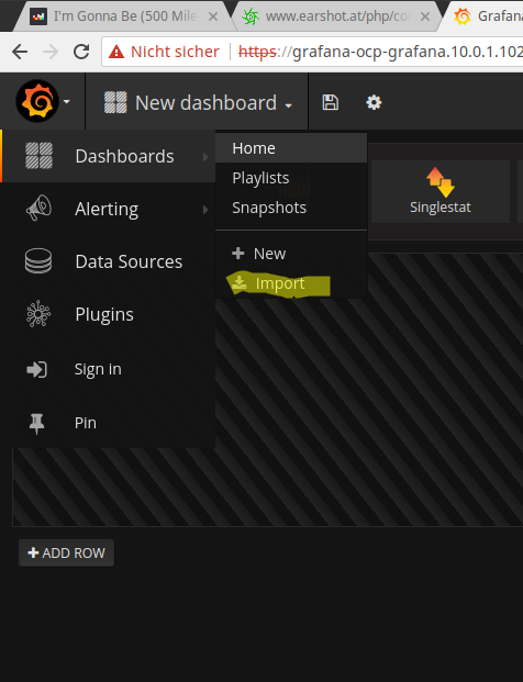 Application monitoring in OpenShift with Prometheus and Grafana